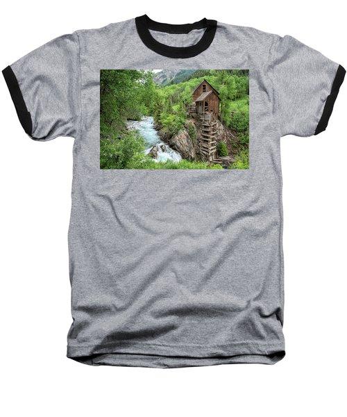 Crystal Mill Colorado 3 Baseball T-Shirt