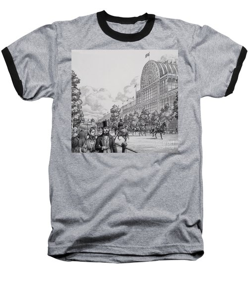Crystal Palace Baseball T-Shirt by Pat Nicolle