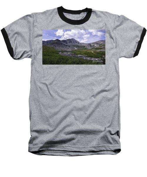 Crystal Peak 13852 Ft Baseball T-Shirt