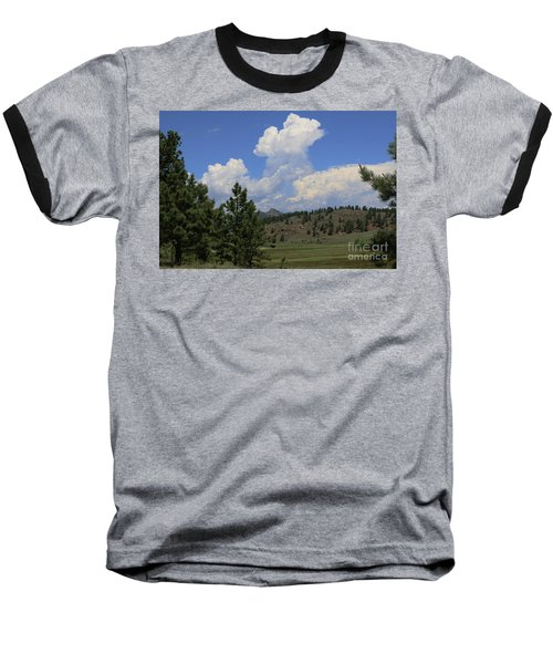 Crystal Peak Colorado Baseball T-Shirt by Jeanette French
