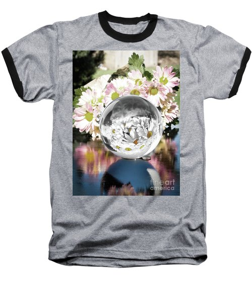 Crystal Reflection Baseball T-Shirt