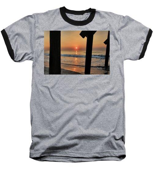 Crystal Sunrise Baseball T-Shirt by Phil Mancuso