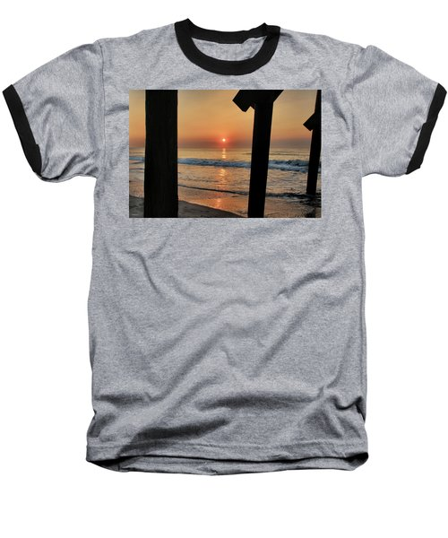 Crystal Sunrise Baseball T-Shirt