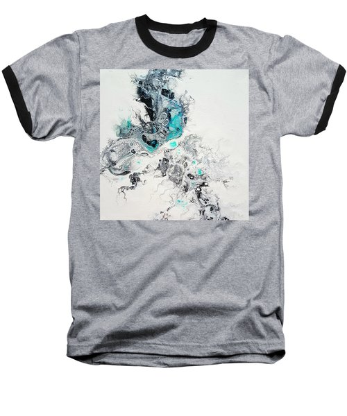 Crystals Of Ice Baseball T-Shirt