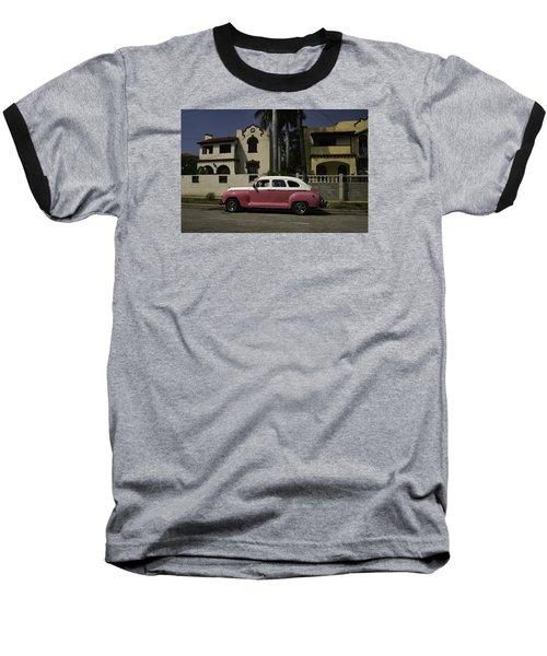 Cuba Car 9 Baseball T-Shirt