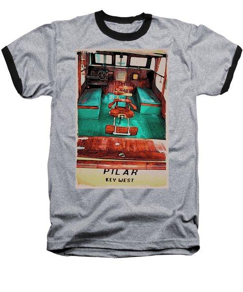 Cuba Hemingway Pilar Baseball T-Shirt