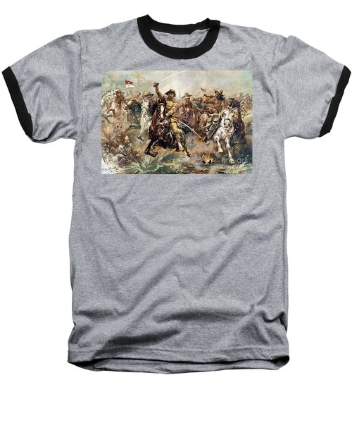Cuba: Rough Riders, 1898 Baseball T-Shirt