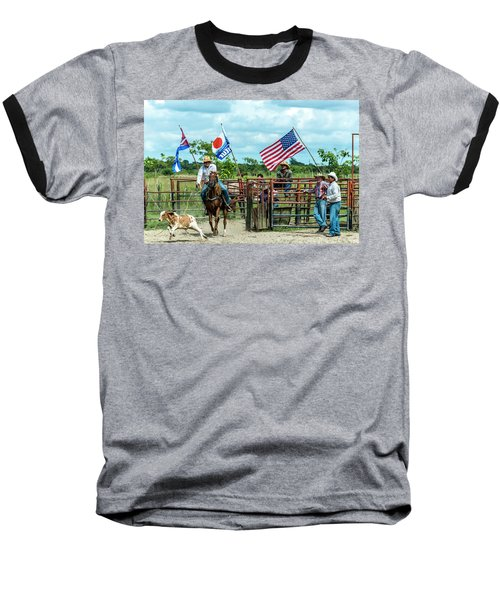 Cuban Cowboys Baseball T-Shirt