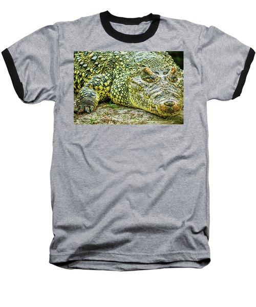 Cuban Croc Baseball T-Shirt