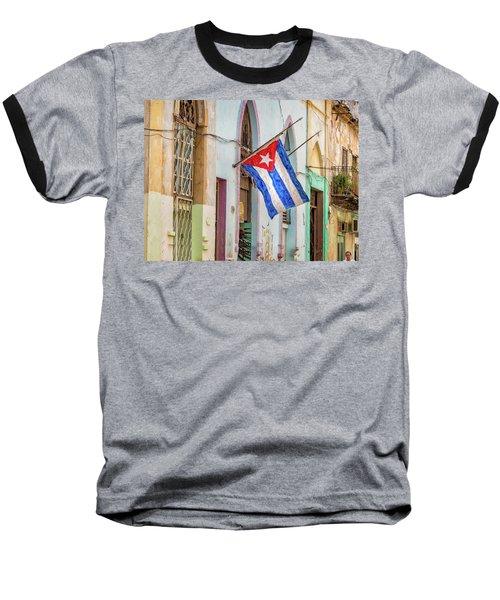 Cuban Pride Baseball T-Shirt