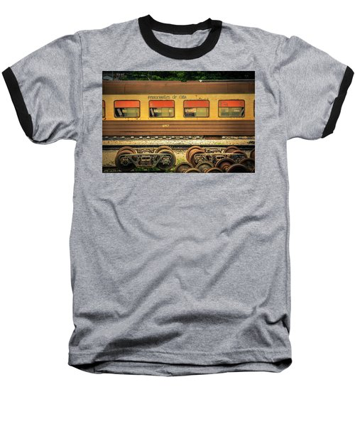 Cuban Train Baseball T-Shirt