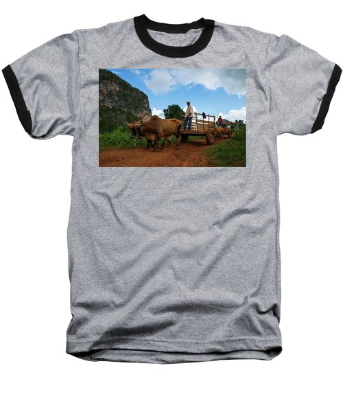Cuban Worker II Baseball T-Shirt
