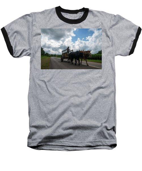 Cuban Worker Baseball T-Shirt