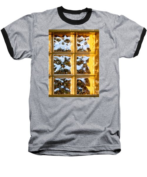 Baseball T-Shirt featuring the photograph Cubed Sunset by Christopher Holmes