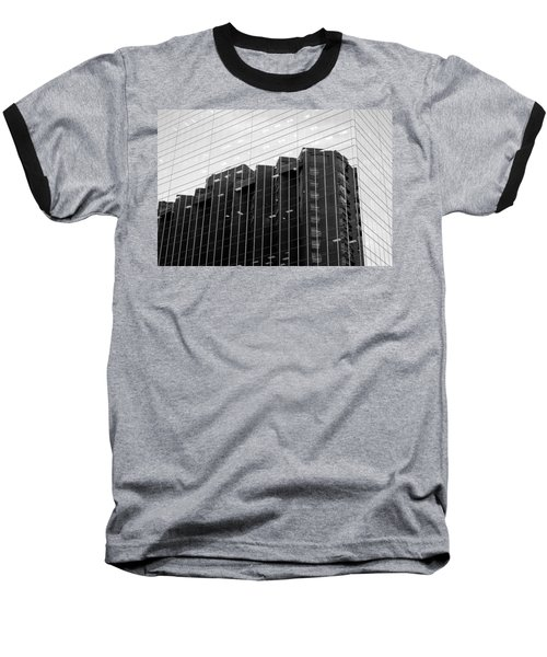 Baseball T-Shirt featuring the photograph Cubicle Farm by Valentino Visentini
