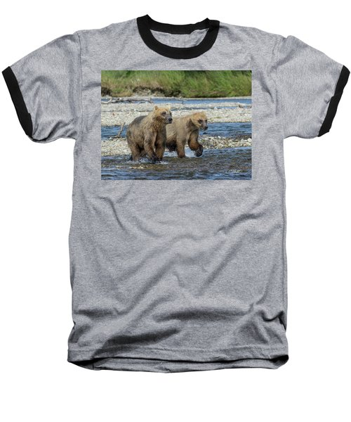 Cubs On The Prowl Baseball T-Shirt