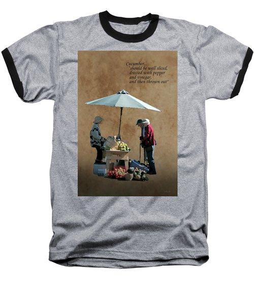 Cucumber Baseball T-Shirt