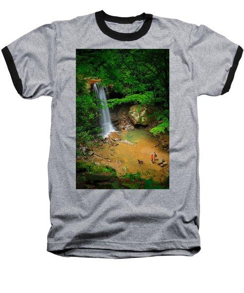 Cucumber Falls Baseball T-Shirt