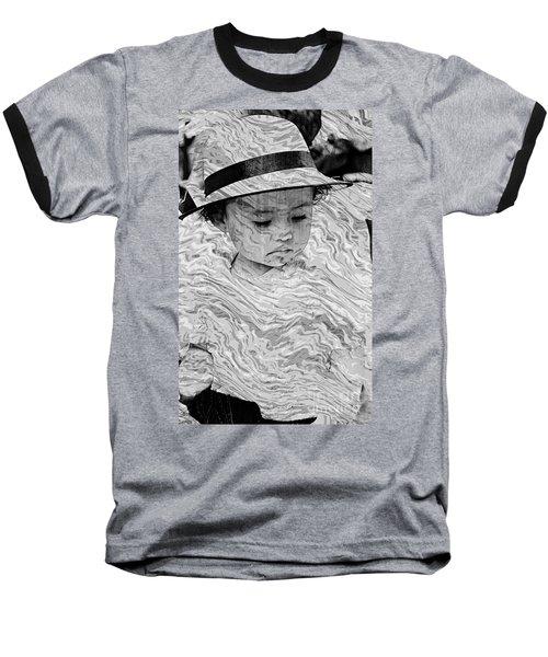 Baseball T-Shirt featuring the photograph Cuenca Kids 894 by Al Bourassa