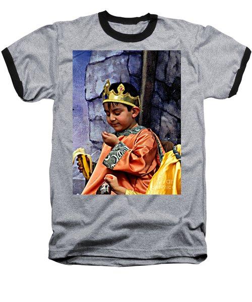 Baseball T-Shirt featuring the photograph Cuenca Kids 903 by Al Bourassa