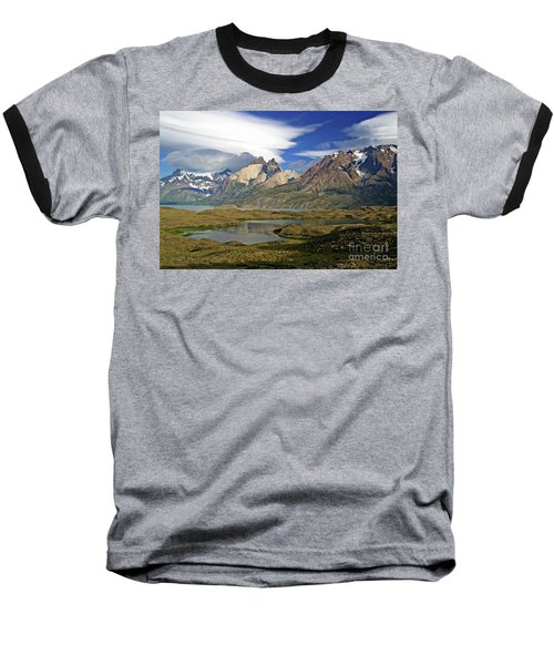Cuernos Del Pain And Almirante Nieto In Patagonia Baseball T-Shirt