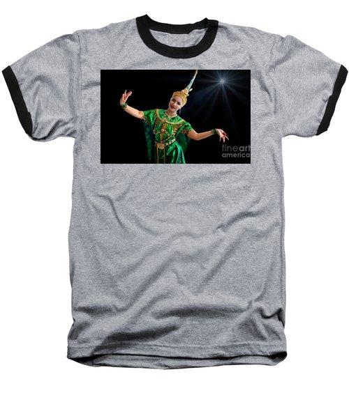 Cultural Thai Dance Baseball T-Shirt