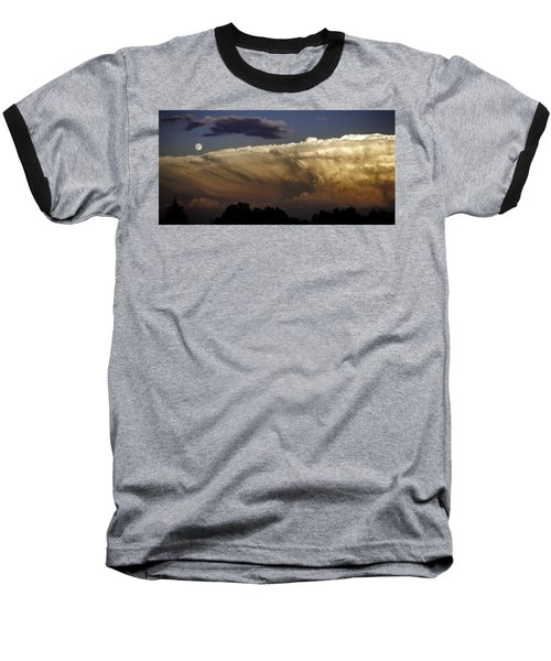 Cumulonimbus At Sunset Baseball T-Shirt