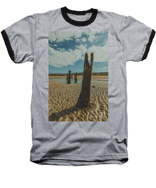 Cunnigar Groynes 3 Baseball T-Shirt
