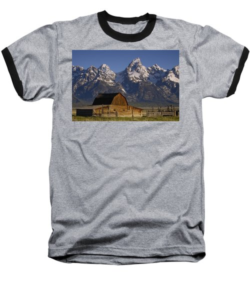 Cunningham Cabin In Front Of Grand Baseball T-Shirt