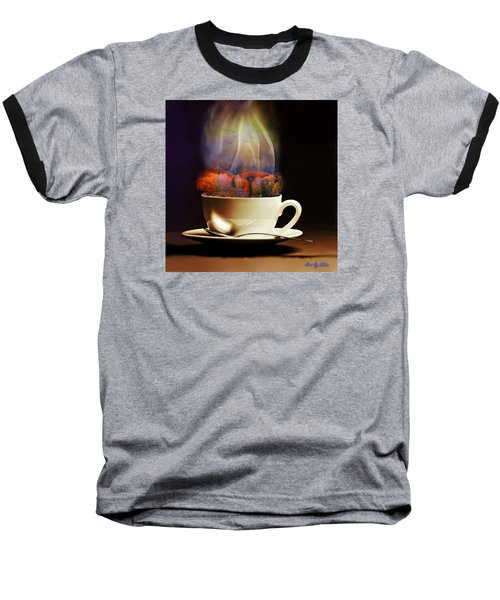 Cup Of Autumn Baseball T-Shirt