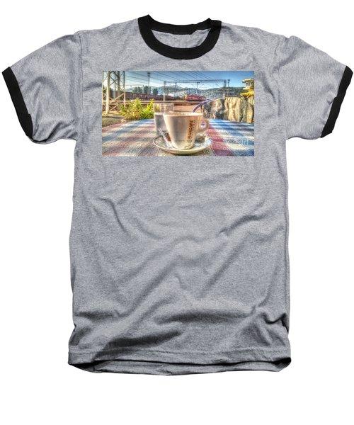 Cup Of Coffee On A Sunny Day Baseball T-Shirt by Yury Bashkin