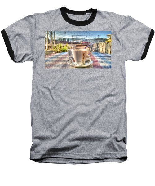 Cup Of Coffee On A Sunny Day Baseball T-Shirt