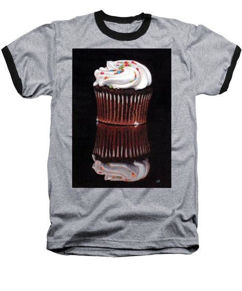 Cupcake Reflections Baseball T-Shirt