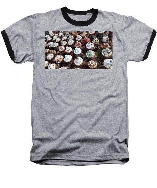 Cupcakes Baseball T-Shirt
