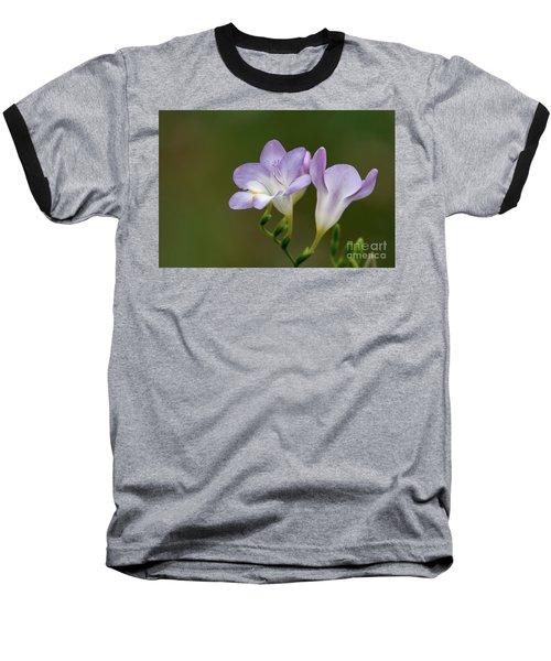 Cupertino Lavender Freesias Baseball T-Shirt