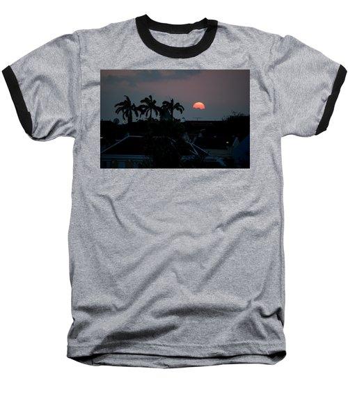 Curacao Sun Rise Baseball T-Shirt