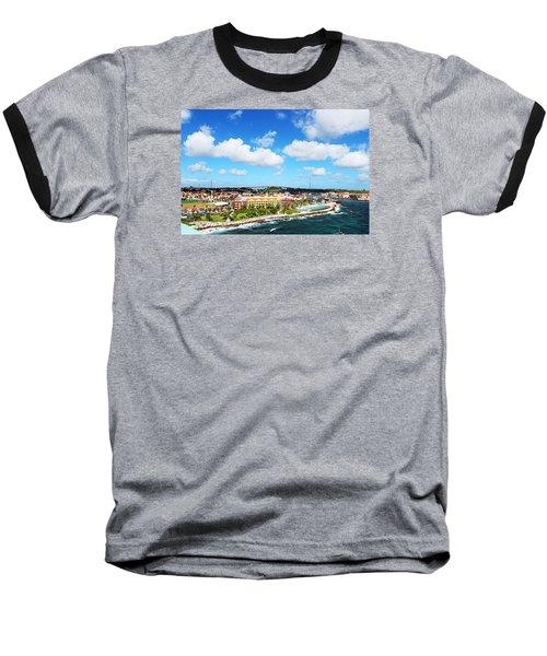 Curazao Baseball T-Shirt by Infinite Pixels