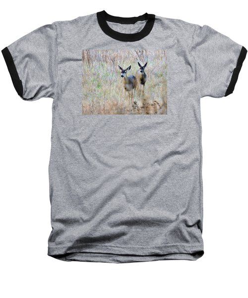 Curious Duo Baseball T-Shirt