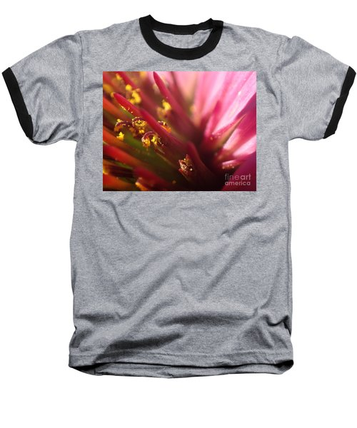 Baseball T-Shirt featuring the photograph Curly Contrast by Christina Verdgeline