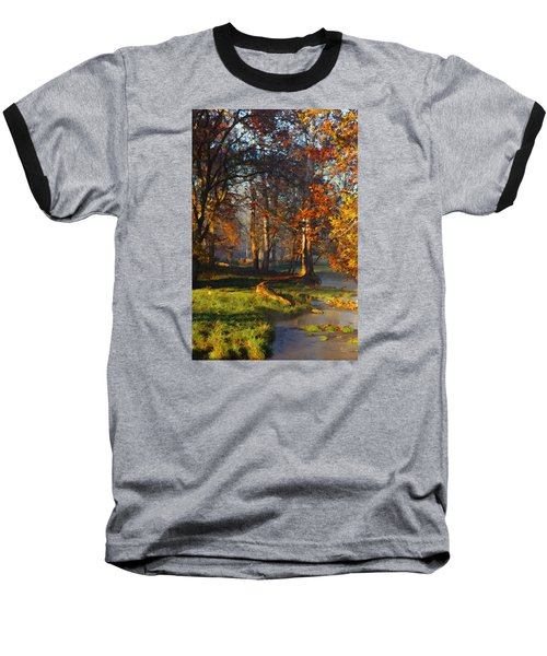 Curry Stream Fall Baseball T-Shirt