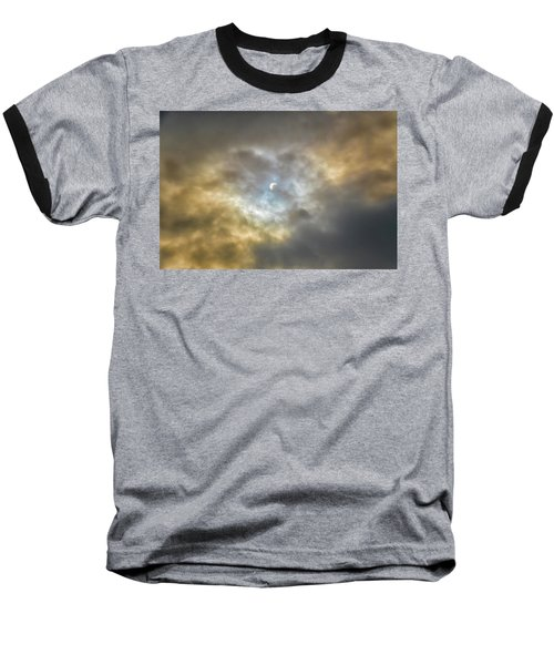 Curtain Of Clouds Eclipse Baseball T-Shirt