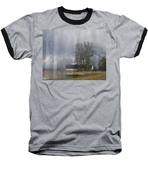 Curtains Of The Mind Baseball T-Shirt by I'ina Van Lawick