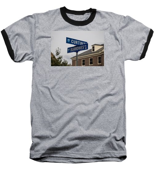 Curtin And Burrowes Penn State  Baseball T-Shirt by John McGraw