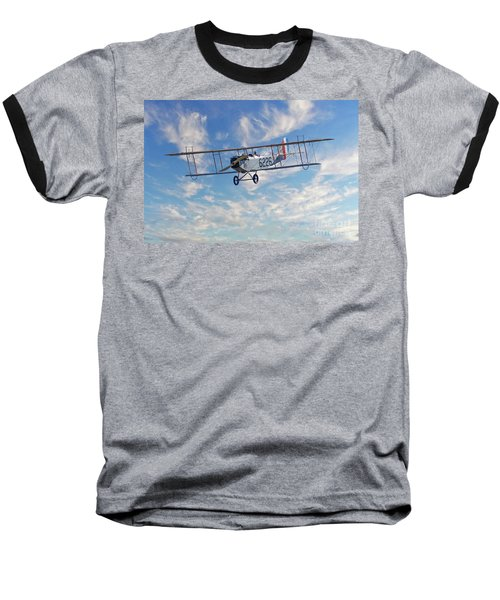 Curtiss Jn-4h Biplane Baseball T-Shirt