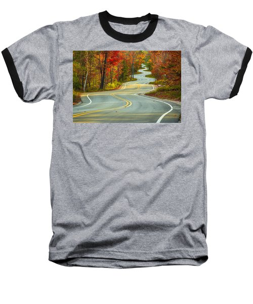 Curvaceous Baseball T-Shirt by Bill Pevlor