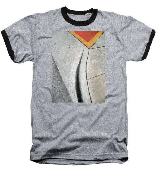 Red Triangle Baseball T-Shirt