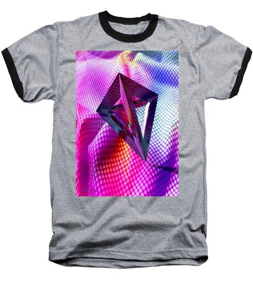 Curves And Angles Baseball T-Shirt