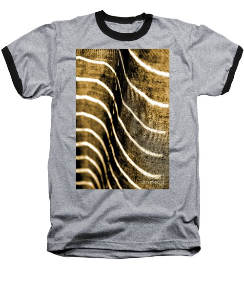 Curves And Folds Baseball T-Shirt