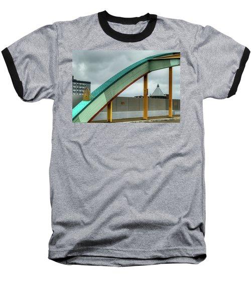 Curving Bridge Baseball T-Shirt