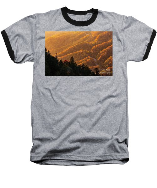 Smoky Mountain Roads Baseball T-Shirt